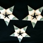 Origami Dollar Stars by Sweetfire Creations by Lori Reed