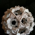 Bucky Ball 3d origami by Sweetfire Creations by Lori Reed