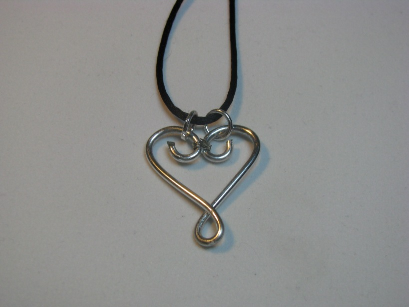 Heart Pendant | Sweetfire Creations by Lori Reed
