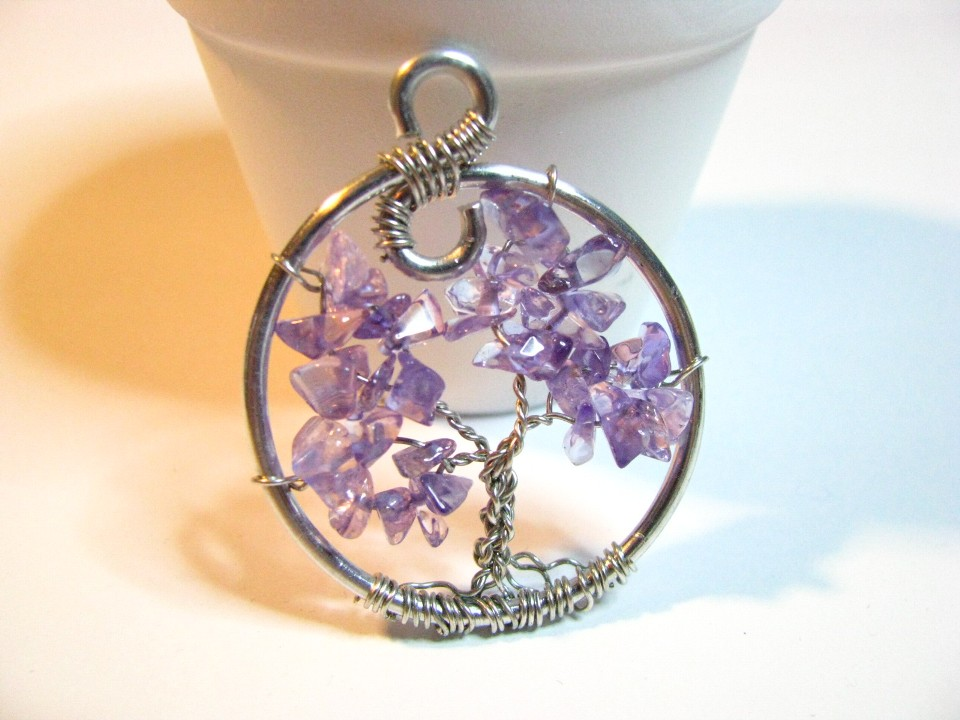 Tree of Life Amethyst  Sweetfirecreations by Lori Reed
