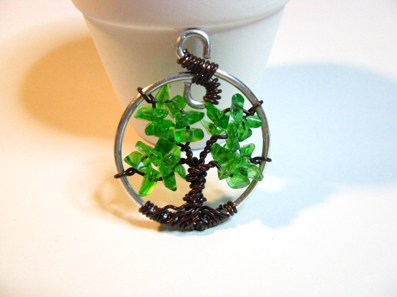 Tree of Life Green Sweetfire Creations by Lori