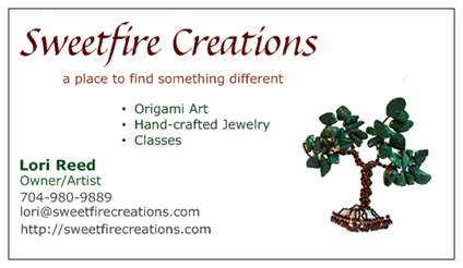 sweetfire creations by lori reed