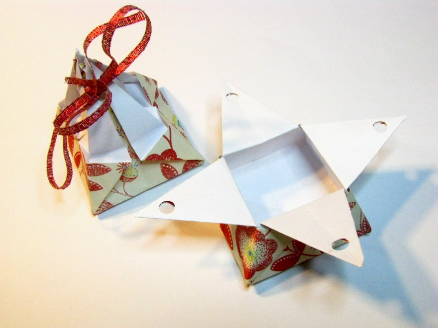 Origami Gift Boxes  Sweetfire Creations by Lori Reed