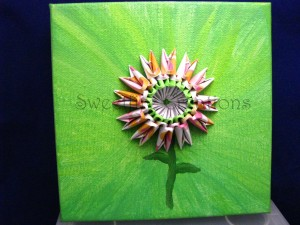 Sweetfire Flower Painting - Sweetfire Creations