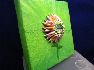 Sweetfire Flower Painting