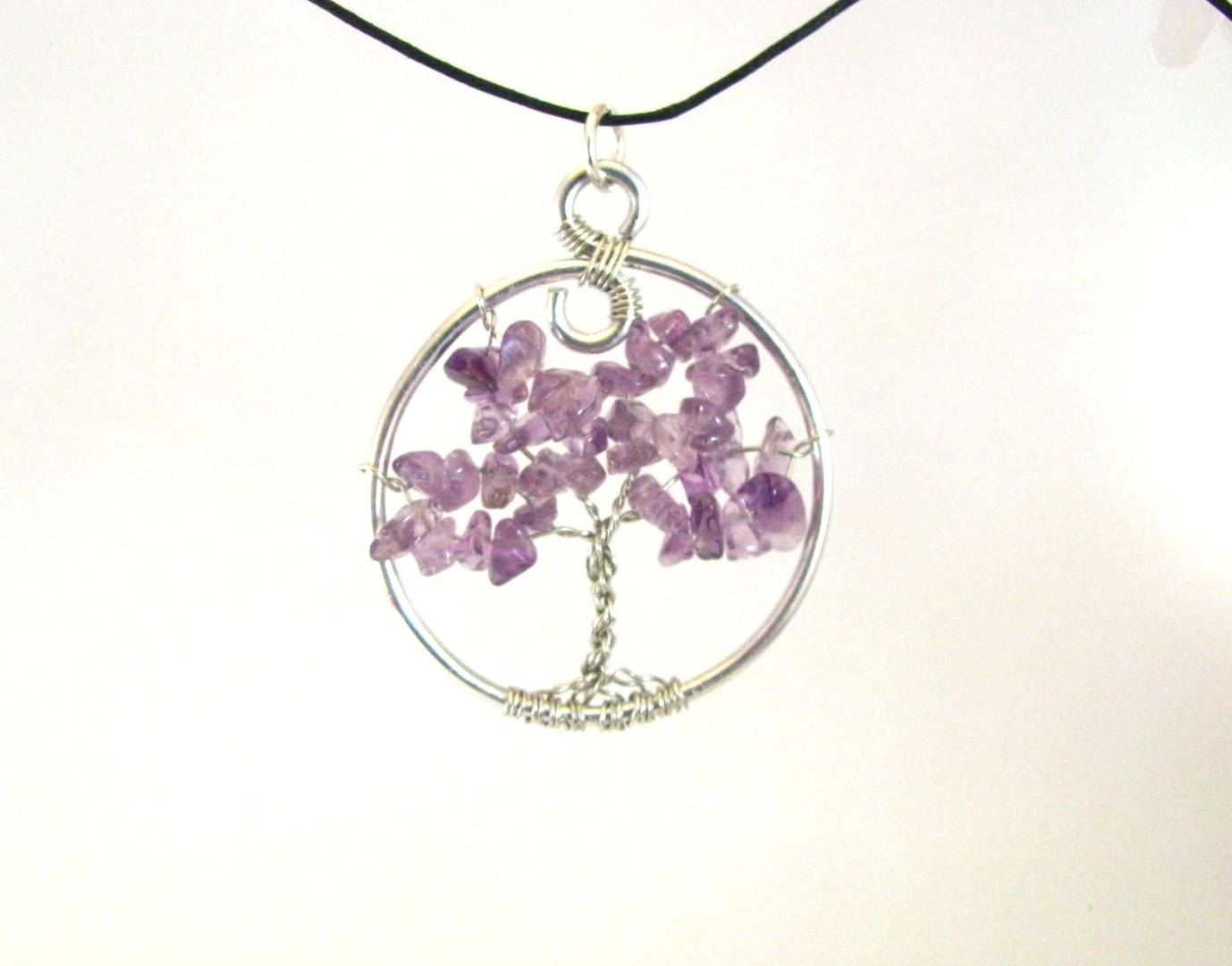 Natural amethyst tree of life by sweetfire creations