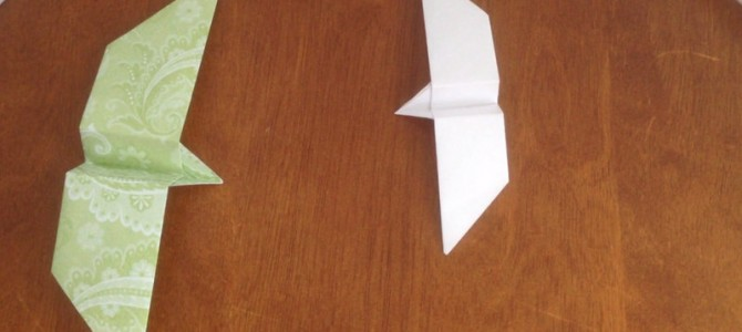 New Tutorial!   Origami Twirly Bird